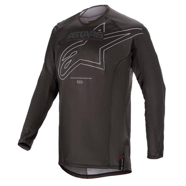 Alpinestars Techstar Phantom Jersey Black White Size: Mens UK - M