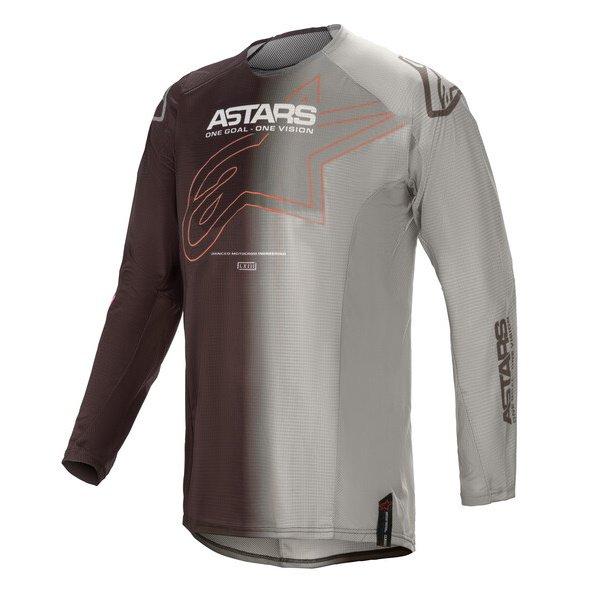 Alpinestars Techstar Phantom Jersey Anthracite Orange Size: Mens UK - M