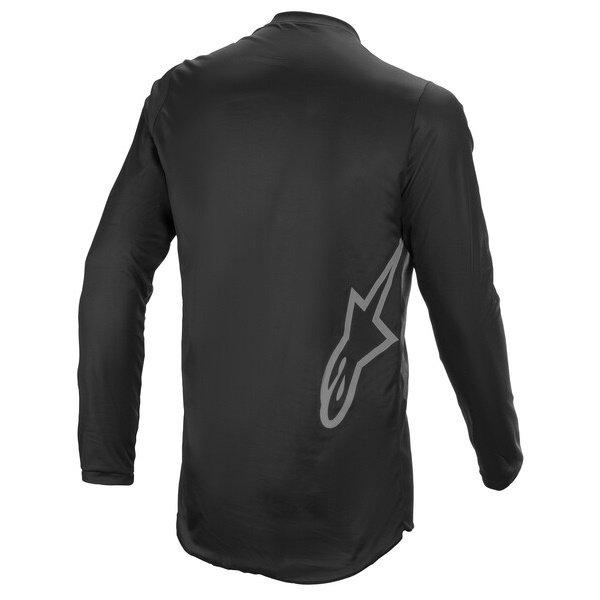 Alpinestars Fluid Graphite Jersey Black Dark Grey Size: Mens UK - S