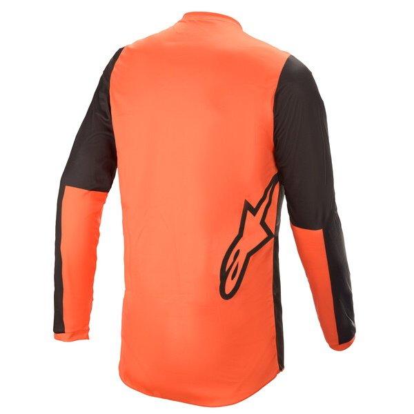 Alpinestars Fluid Tripple Jersey Black Orange Size: Mens UK - M