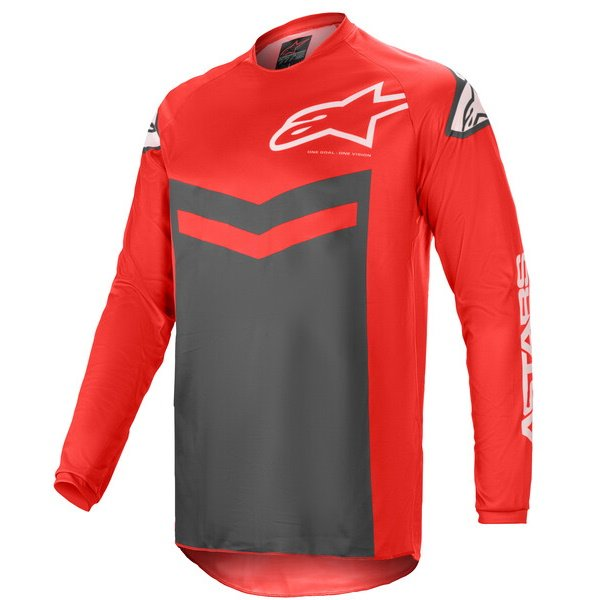 Fluid Speed Jersey Bright Red Anthracite