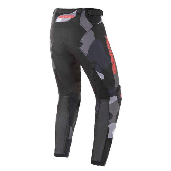 Alpinestars Racer Tactical Pants Grey Camo Red Fluo Size: Mens UK - 32