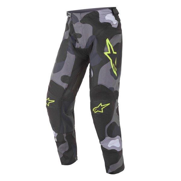 Alpinestars Racer Tactical Pants Grey Camo Yellow Fluo Size: Mens UK - 32