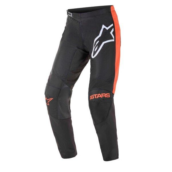 Fluid Tripple Pants Black Orange