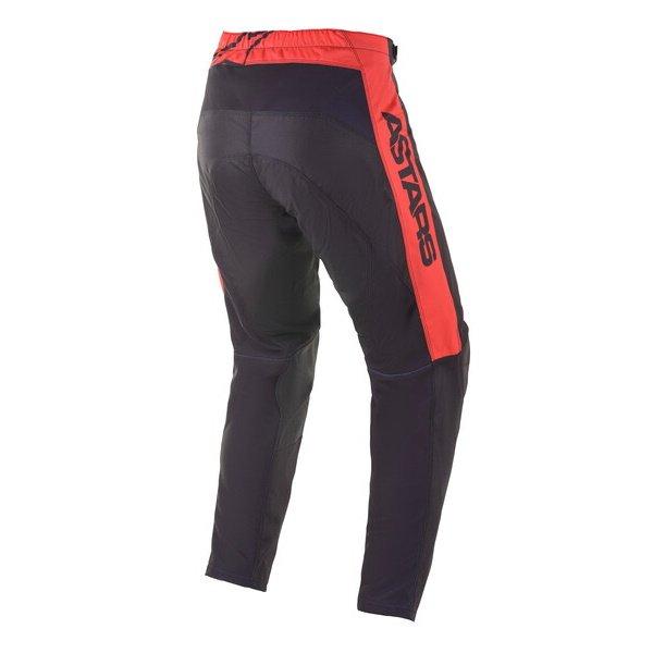 Alpinestars Fluid Tripple Pants Black Yellow Flo Bright Red Size: Mens UK - 32