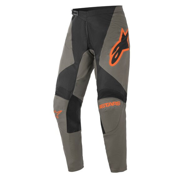 Fluid Speed Pants Dark Grey Orange
