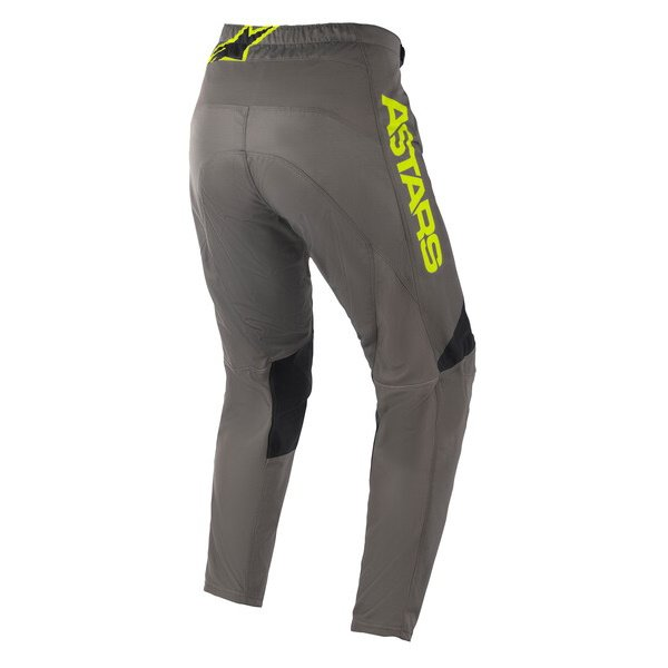 Alpinestars Fluid Speed Pants Dark Grey Yellow Flo Size: Mens UK - 32