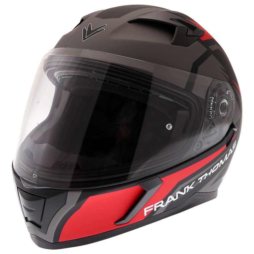 FT39SV Nautilus Helmet Matt Red Motorcycle Helmets