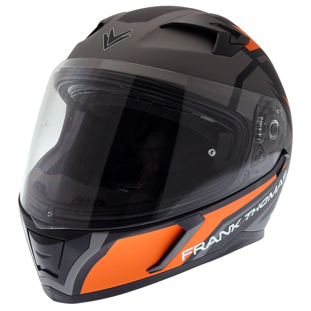 FT39SV Nautilus Helmet Matt Orange Motorcycle Helmets