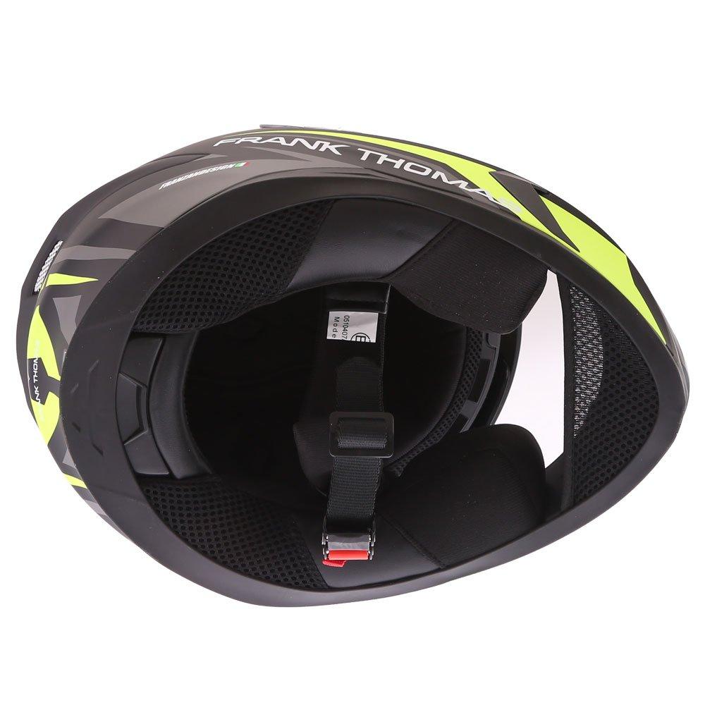 Frank Thomas FT39SV Nautilus Helmet Matt Yellow Size: XS
