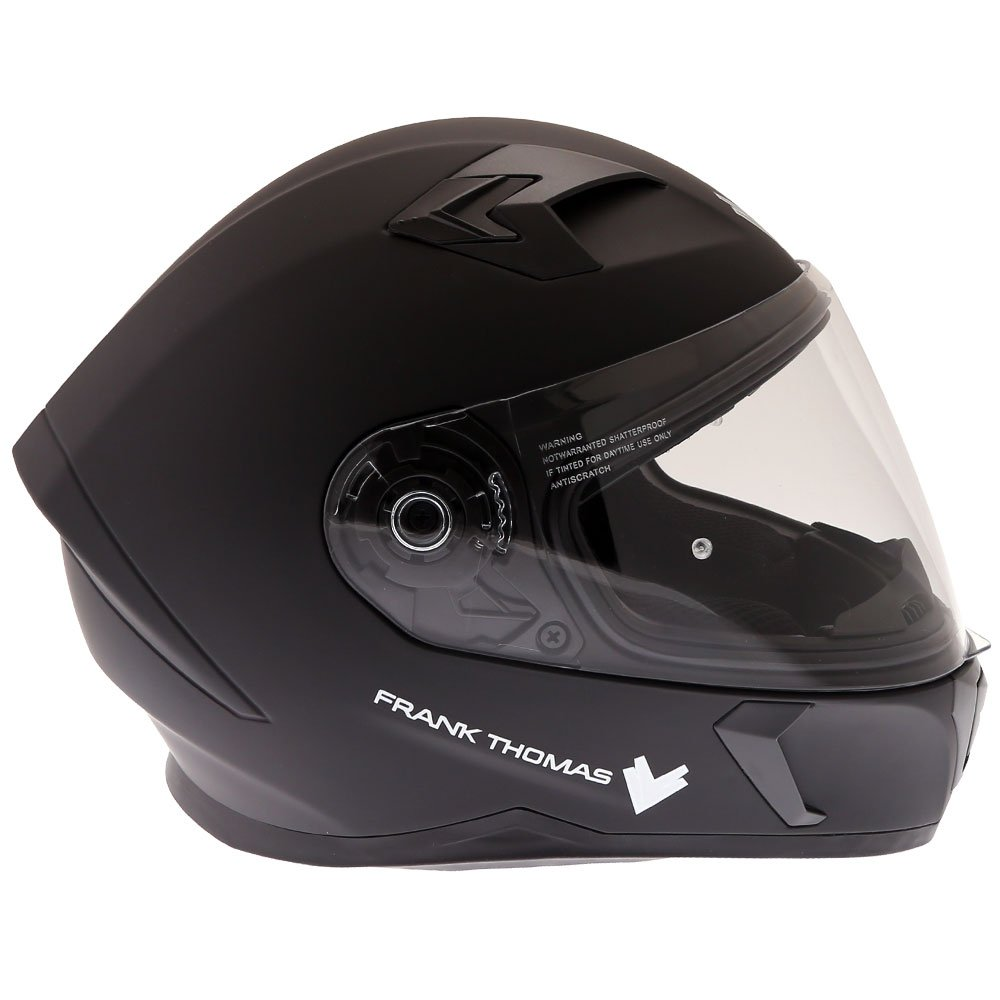 Frank Thomas FT39SV Helmet Matt Black Size: XS