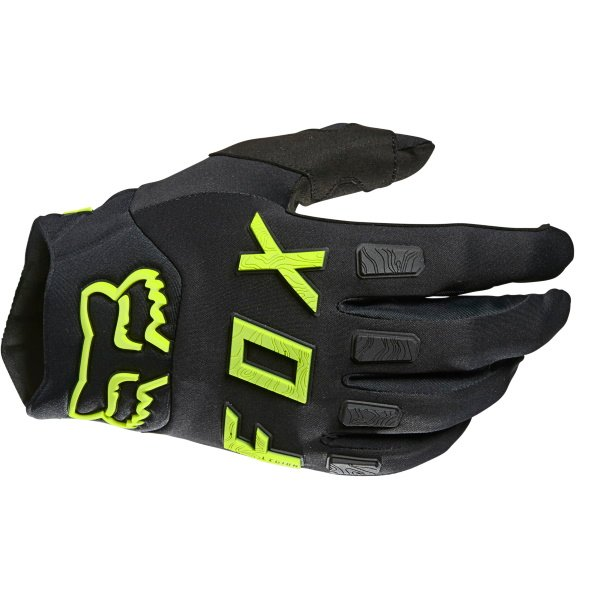 Fox Legion Gloves Black Yellow Size: Mens - M