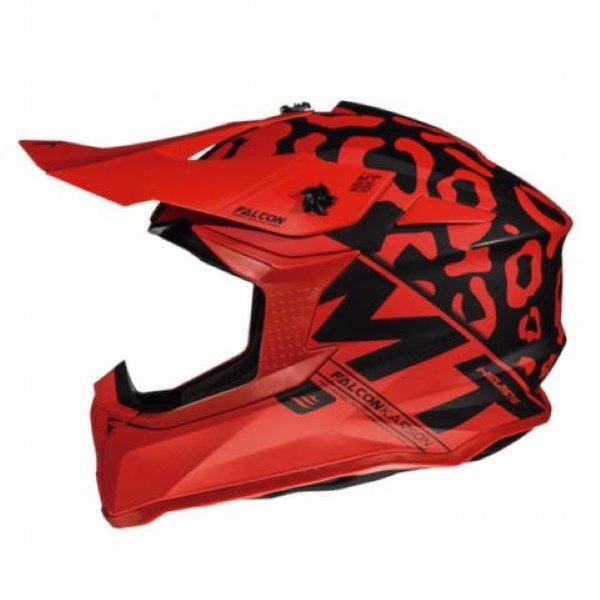 Falcon Karson Helmet Matt Red