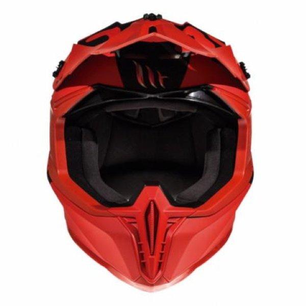 MT Falcon Karson Helmet Matt Red Size: XS