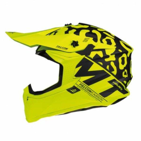 Falcon Karson Helmet Matt Fluo Yellow
