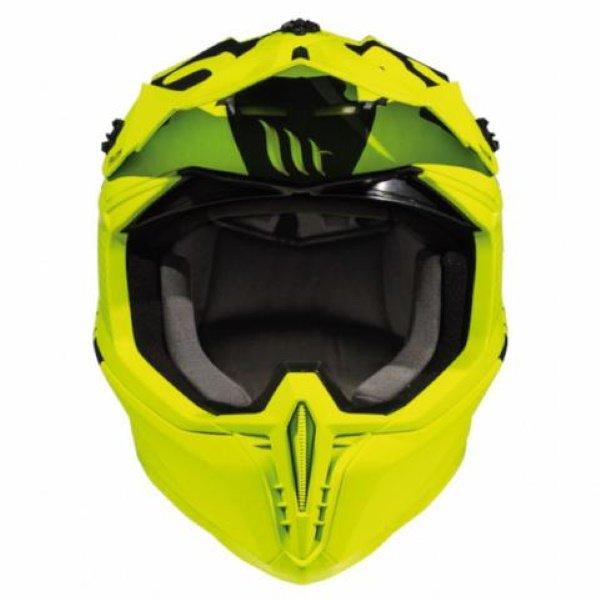MT Falcon Karson Helmet Matt Fluo Yellow Size: XS