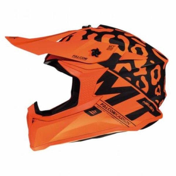 Falcon Karson Helmet Matt Fluo Orange