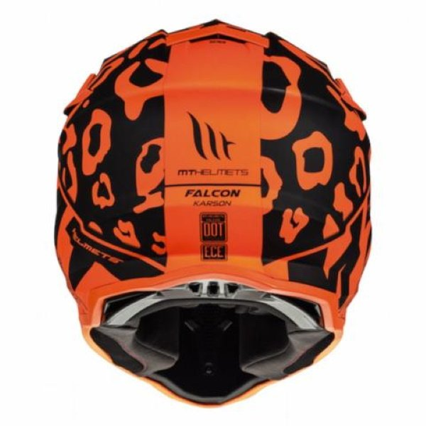 MT Falcon Karson Helmet Matt Fluo Orange Size: XS