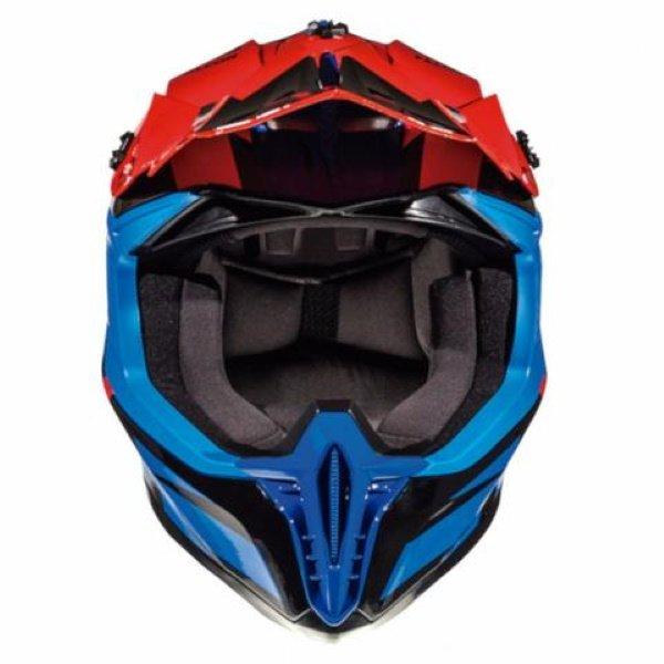 MT Falcon Weston Helmet Blue Black Red Size: XS