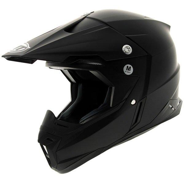 Synchrony Helmet Matt Black MT Helmets Motocross