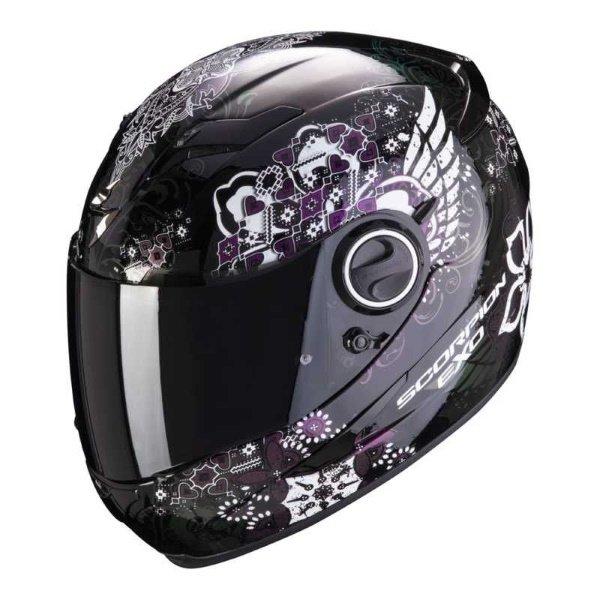 EXO 490 Divina Helmet Black Cham Scorpion Helmets