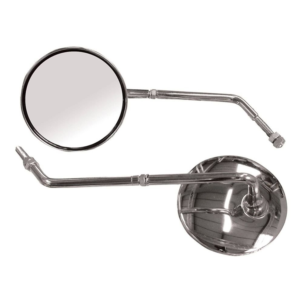 Bike It Universal Mirror 8Mm With Clam Universal Mirror 8Mm With Clam