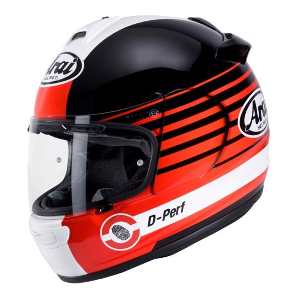 Debut Page Helmet Red