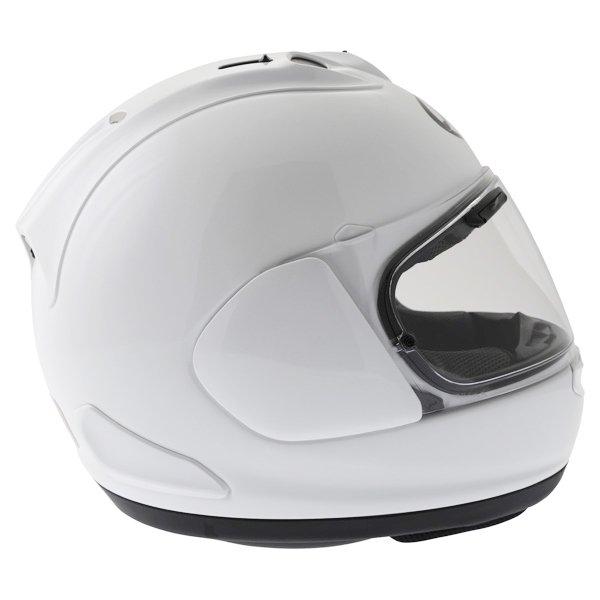 Arai RX-7V Diamond White Full Face Motorcycle Helmet Back