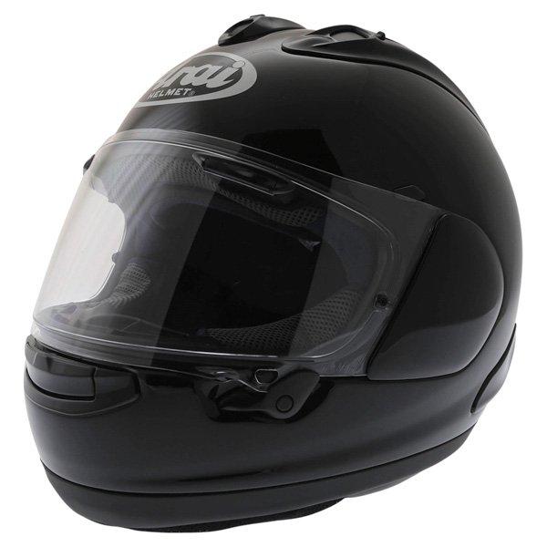 Arai RX-7V Diamond Black Full Face Motorcycle Helmet Front Left