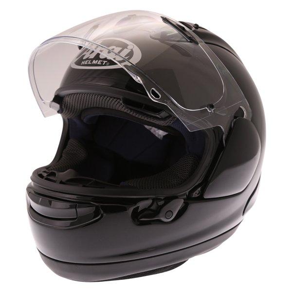 Arai RX-7V Diamond Black Full Face Motorcycle Helmet Front