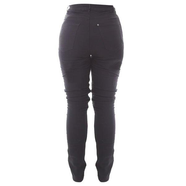 Frank Thomas Elsa Fury Skinny A CE Ladies Black Denim Motorcycle Jeans Rear