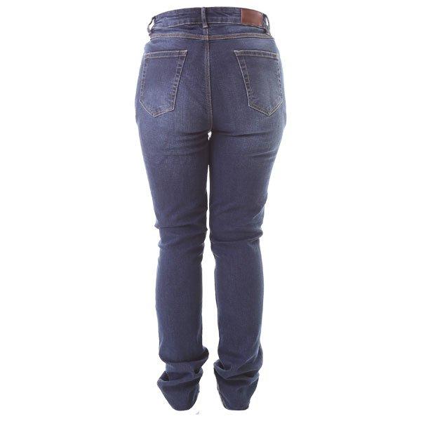 Frank Thomas Ariel Tactical Slim AA CE Ladies Blue Denim Motorcycle Jeans Rear