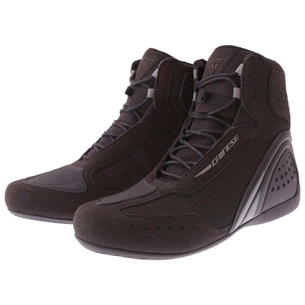 Motorshoe D1 Air Boots Black Black Anthracite