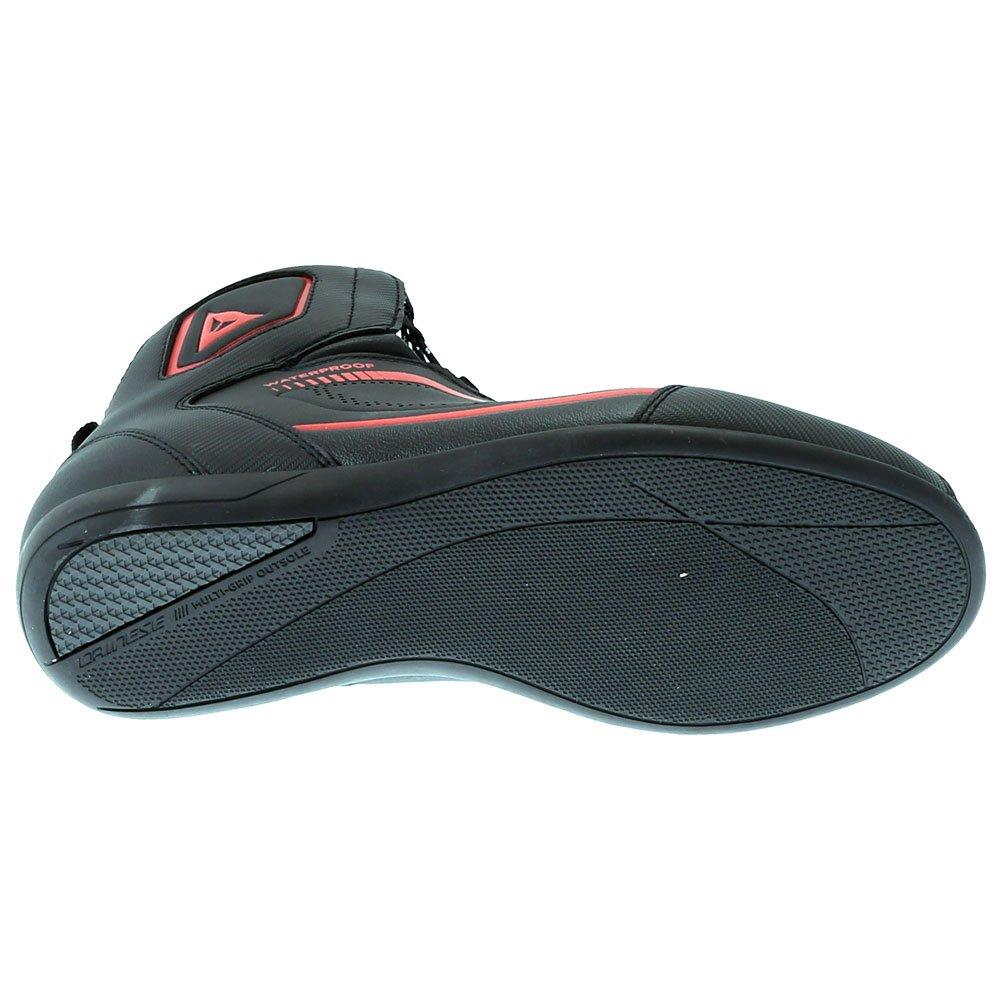 Dainese Raptors D-WP Shoes Black Black Fluo Red Size: UK 6