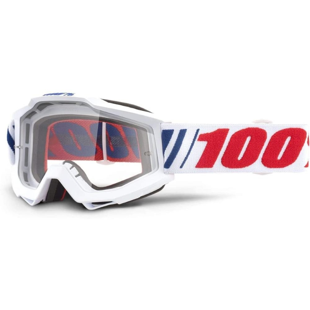 100% Accuri Goggle AF066 Clear Lens Clear Lens