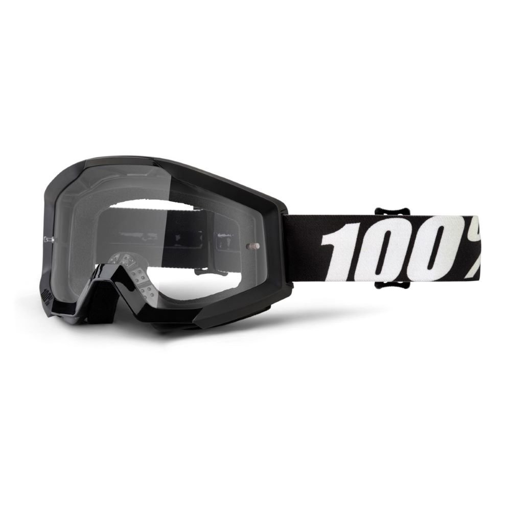 100% Strata Goggle Outlaw Clear Lens Clear Lens