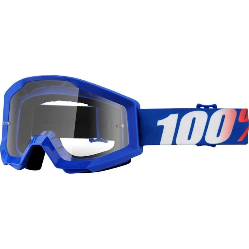 100% Strata Goggle Nation Clear Lens Clear Lens