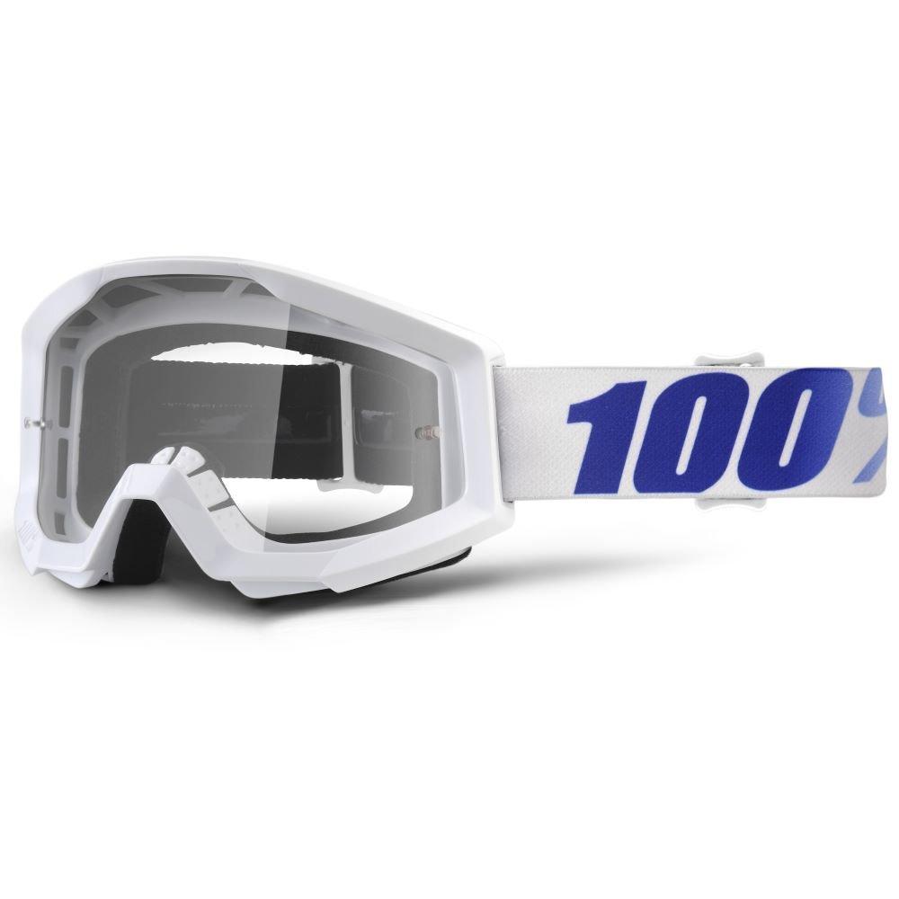 100% Strata Goggle Equinox Clear Lens Clear Lens