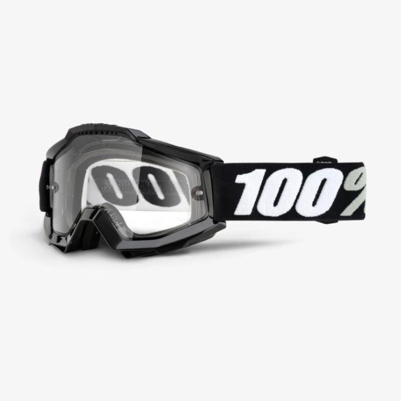 100% Accuri Enduro MTB Goggle Torna Clear Vented Dual Lens Clear Vented Dual Lens