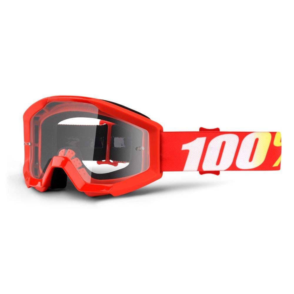 100% Strata JR Goggle Furnace Clear Lens Clear Lens
