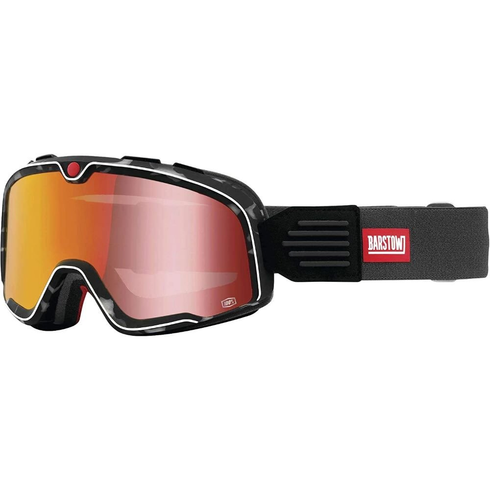 100% Barstow Goggle Gasby Red Mirrors Lens Red Mirrors Lens