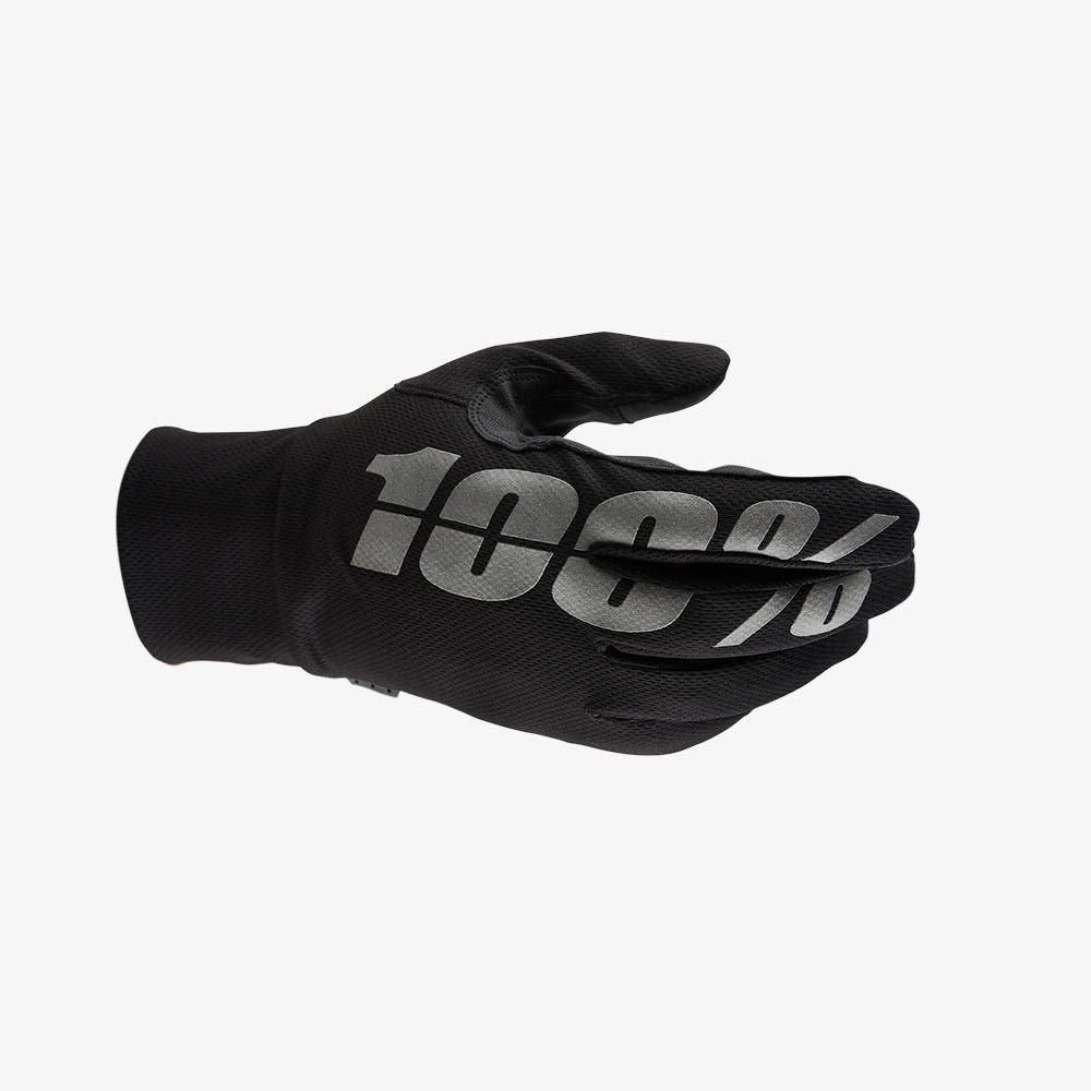 100% Hydromatic Waterproof Gloves Black Size: Mens - S
