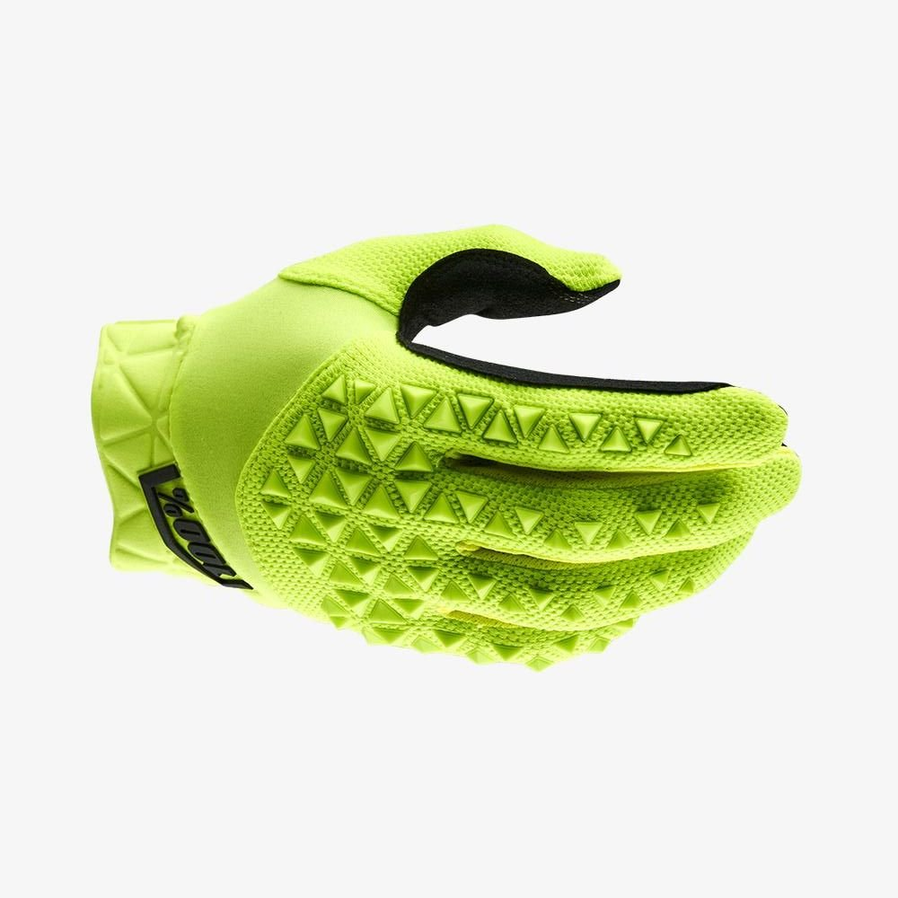 100% Airmatic Gloves Yellow Black Size: Mens - S