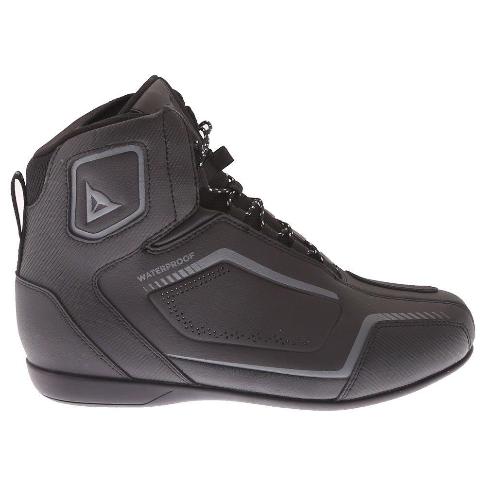 Dainese Raptors D-WP Shoes Black Black Anthracite Size: UK 6