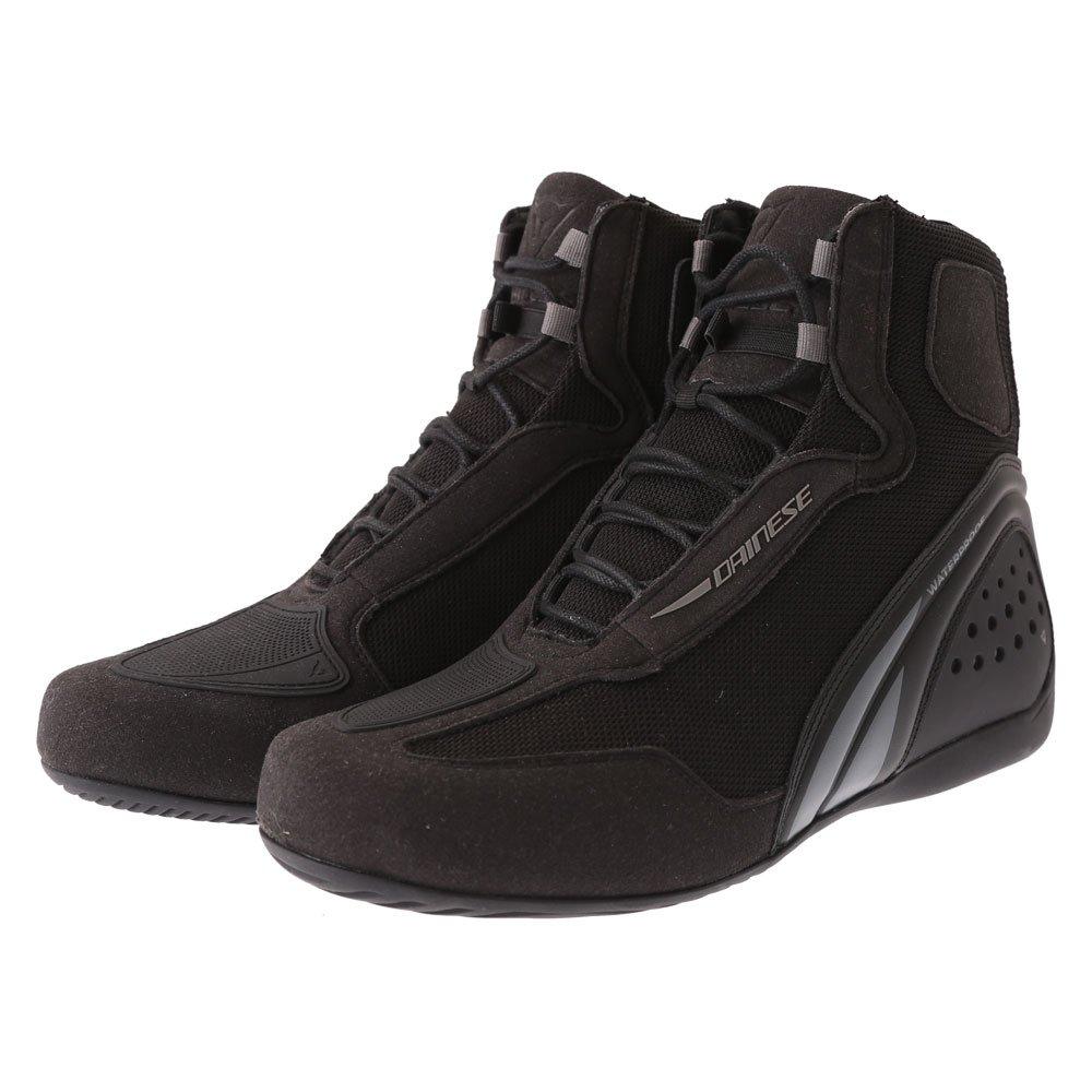 Motorshoe D1 DWP Boots Black Black Anthracite Dainese
