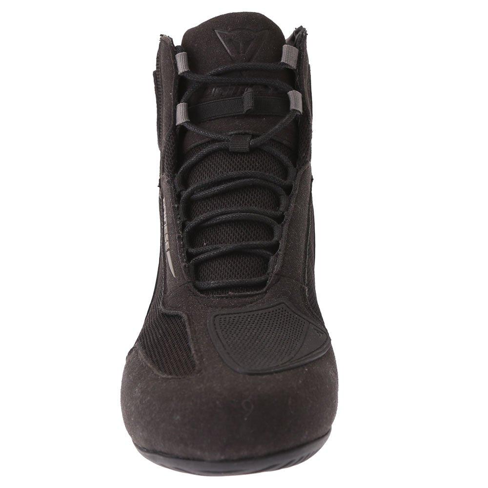 Dainese Motorshoe D1 DWP Boots Black Black Anthracite Mens - 6