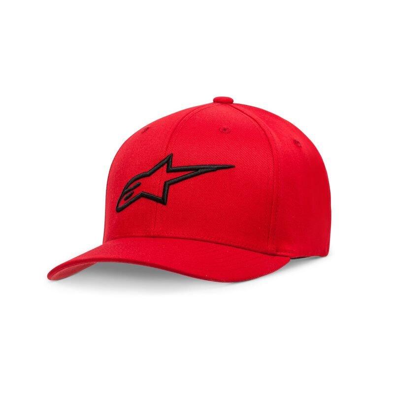 Alpinestars Ageless Curve Hat Red Size: L-XL