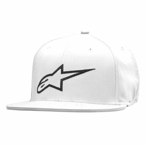 Alpinestars Ageless Flat Hat White Size: L-XL