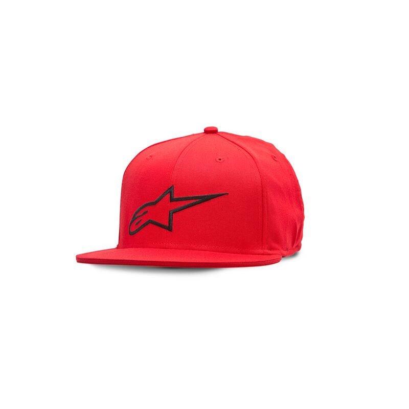 Alpinestars Ageless Flat Hat Red Size: L-XL