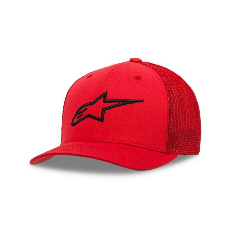 Alpinestars Ageless Str Mesh Hat Red Black Size: L-XL